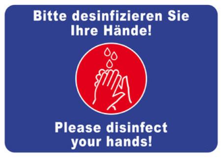 Desinfektion Englisch
